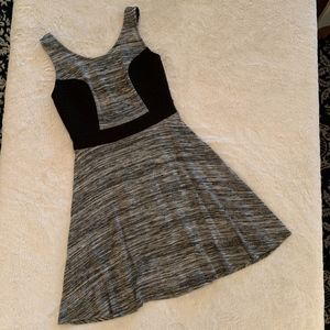 Black and Grey Merle Dress Size XS